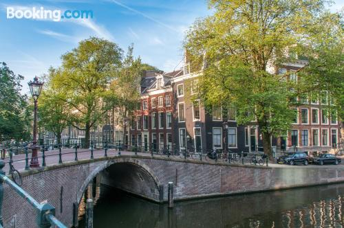 Amsterdam perfect location! With terrace