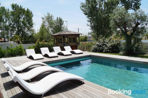 Place with pool. Enjoy your terrace