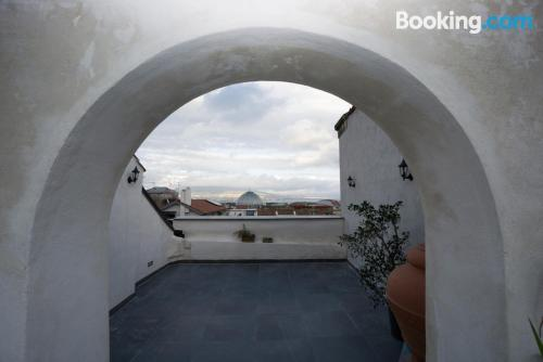 Home for families in Naples with terrace