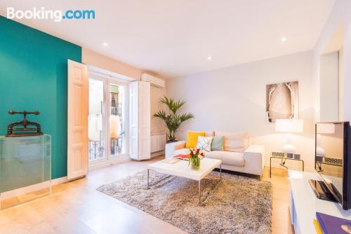 Apartamento con conexión a internet en centro de Madrid