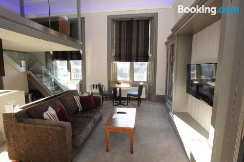 One bedroom apartment. Linlithgow at your feet!