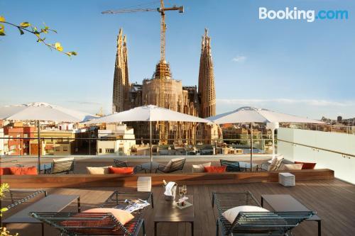 Apartamento en Barcelona con calefacción