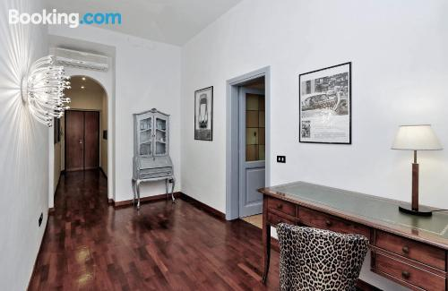Family friendly apartment in Rome. Absolutely center