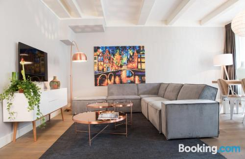 Two room apartment in Amsterdam. Kid friendly