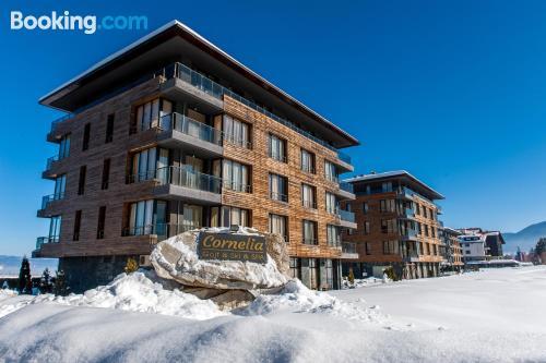 Gran apartamento de dos habitaciones con terraza