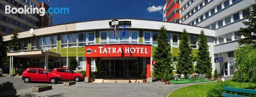 Apartamento de 25m2 en Poprad con internet y terraza