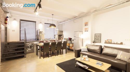 Home in Barcelona. Convenient for families