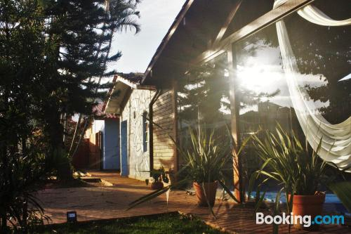 Place in Florianópolis. Good choice!