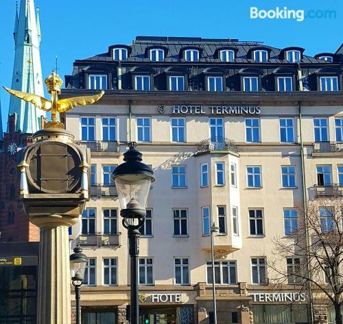 Home in Stockholm in center