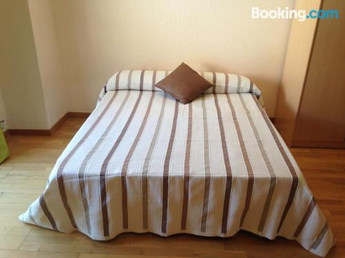 One bedroom apartment in Lleida with internet
