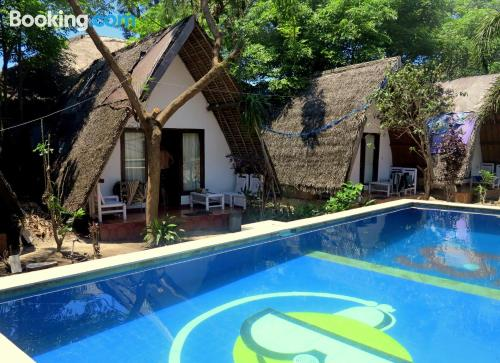 Place for 2 in Gili Trawangan with swimming pool