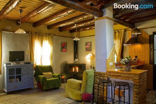 Comfortable apartment in Fuenteheridos. Wifi!