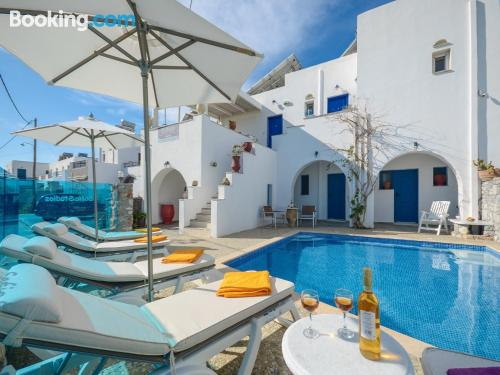 One bedroom apartment in Agia Anna Naxos with terrace