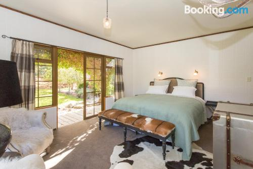 Place for 2 people. Cardrona from your window!