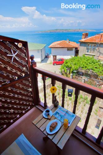 In Sozopol with heat and wifi