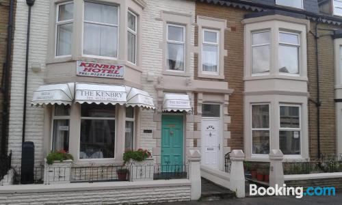 Apartment for 2 in Blackpool with heating