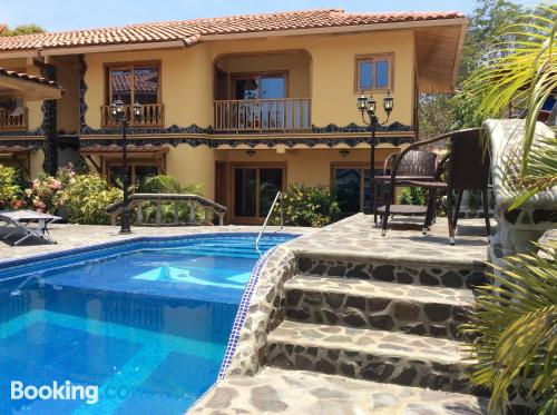 Two bedroom place in Contadora with terrace and swimming pool