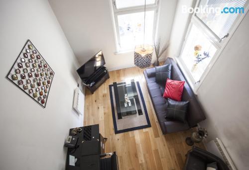 Apartamento de una habitación en Huddersfield. ¡50m2!