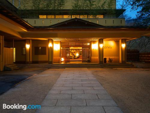 Place in Hakone with air-con