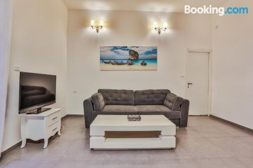 Apartamento para familias con niños en zona inmejorable de Tel Aviv