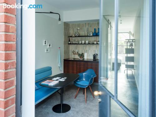 Stay cool: air home in Amsterdam good choice for two