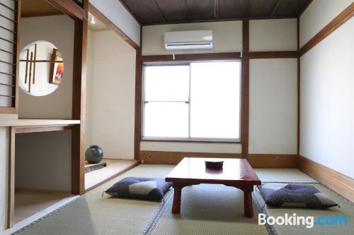 Cozy studio with air