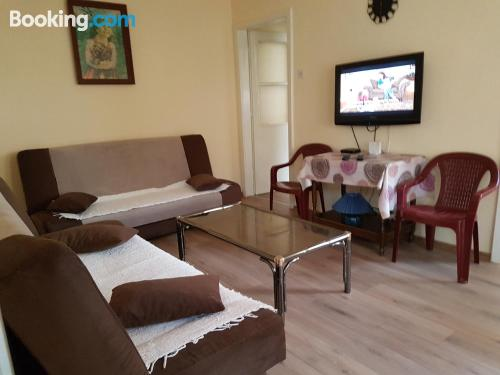 Apartment with terrace. Convenient for families
