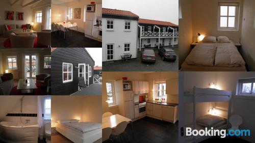 Espacioso apartamento de dos habitaciones en Bindslev
