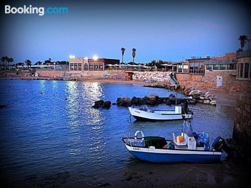 2 room apartment in Caesarea. Air-con!