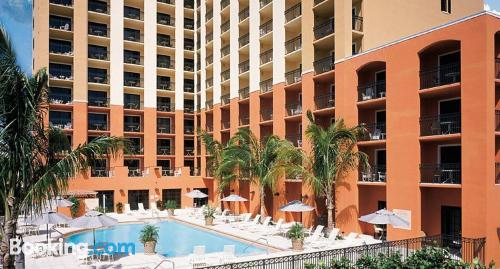 Apartment for couples. Delray Beach from your window!
