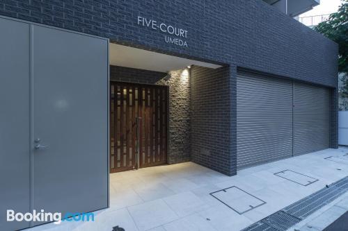 Apartamento de 26m2 en Osaka con calefacción