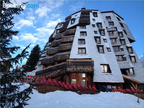 Apartment for two people in Avoriaz with terrace