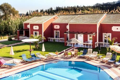 Large apartment in Sidari with terrace
