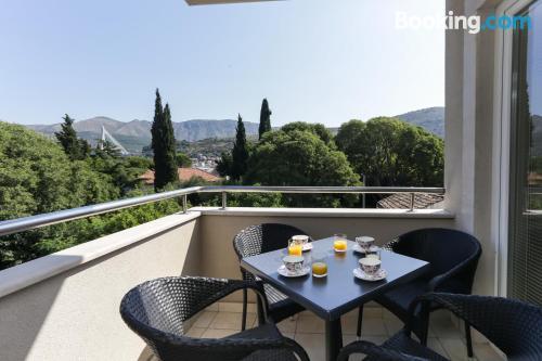 Práctico apartamento en Dubrovnik con aire acondicionado