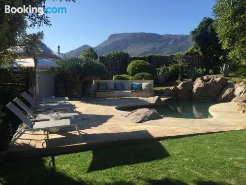 Central location in Noordhoek. With terrace