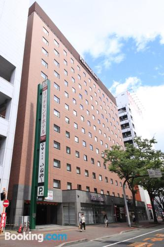 Place for couples in Fukuoka with heating and wifi