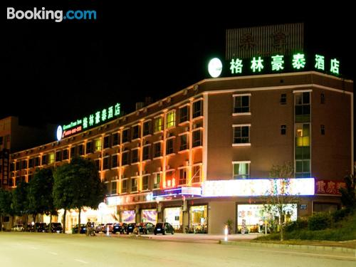 Home in Zhongshan with air-con