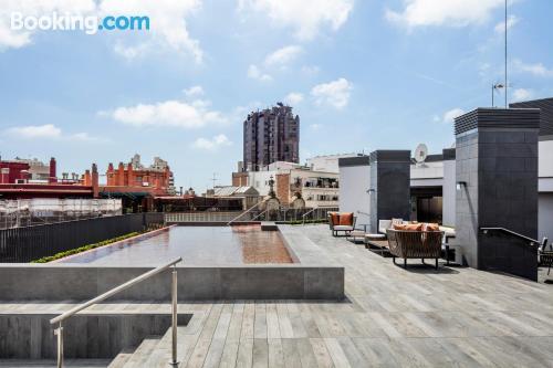 Apartamento en Barcelona con vistas