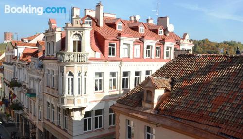 City-center home in Vilnius.