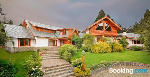 Cozy apartment in San Carlos de Bariloche. Terrace!.