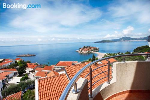 Place in Sveti Stefan with terrace!.