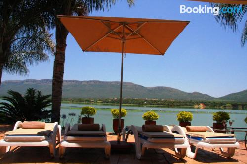 One bedroom apartment in Hartbeespoort with terrace and swimming pool
