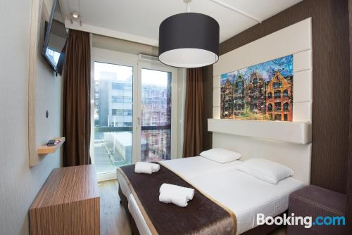 Home for 2 people in Amsterdam with terrace