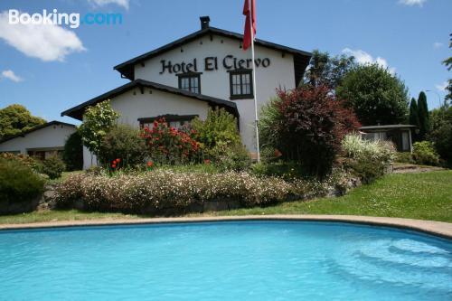 Apartamento con piscina en Villarrica
