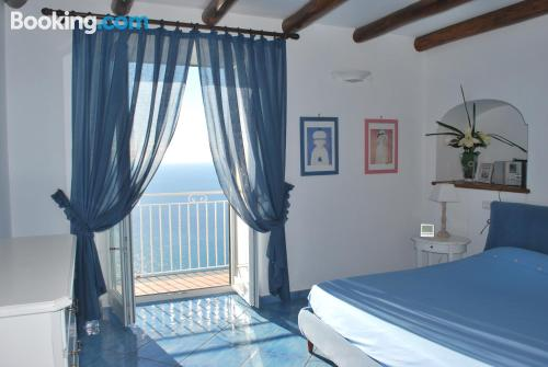Family apartment in downtown of Conca Dei Marini