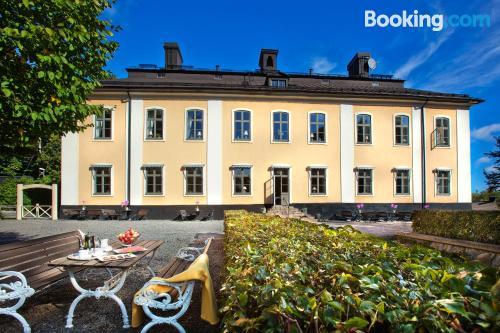 Apartamento con terraza en Estocolmo