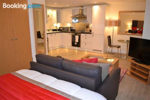 One bedroom apartment in Basingstoke. Little!