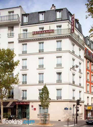 Apartment in Paris with heating