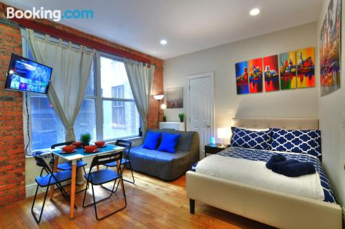 Ideal one bedroom apartment with heat and internet