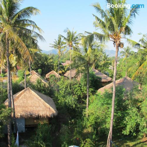 50m2 place in Gili air with wifi and terrace